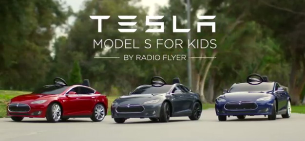 La version pour enfants de la Tesla Model S
