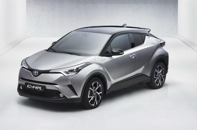 Toyota C-HR : version de série