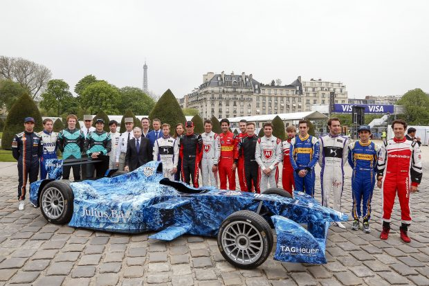 Suivez la Formule E à Paris en direct