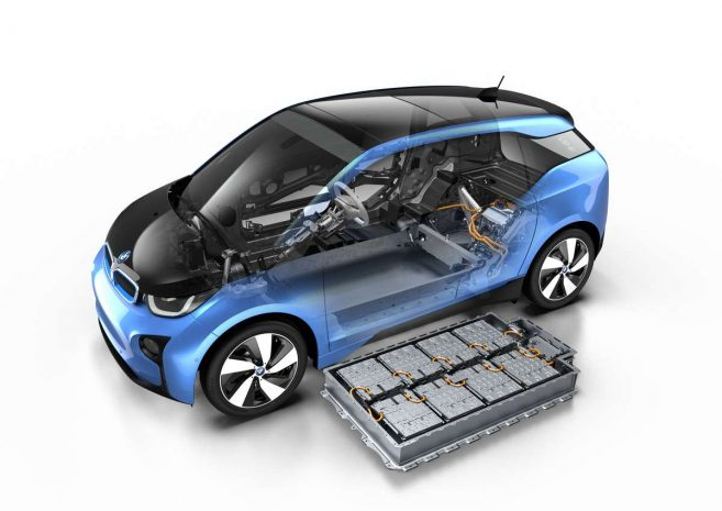 BMW i3 33 kWh batterie