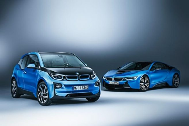 BMW i3 Protonic Blue