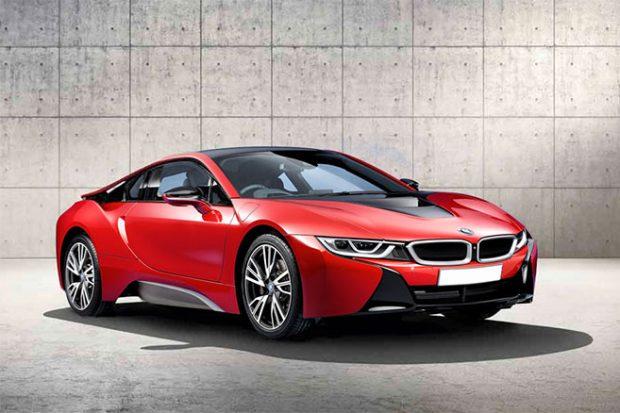 bmw i8 plus de puissance et d autonomie en 2017. Black Bedroom Furniture Sets. Home Design Ideas