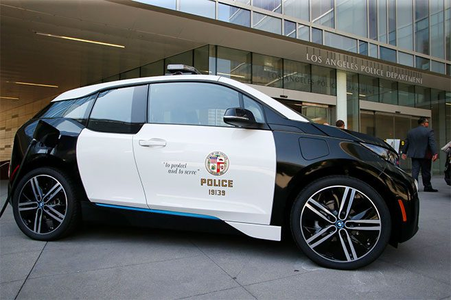 BMW i3 LAPD - Police de Los Angeles