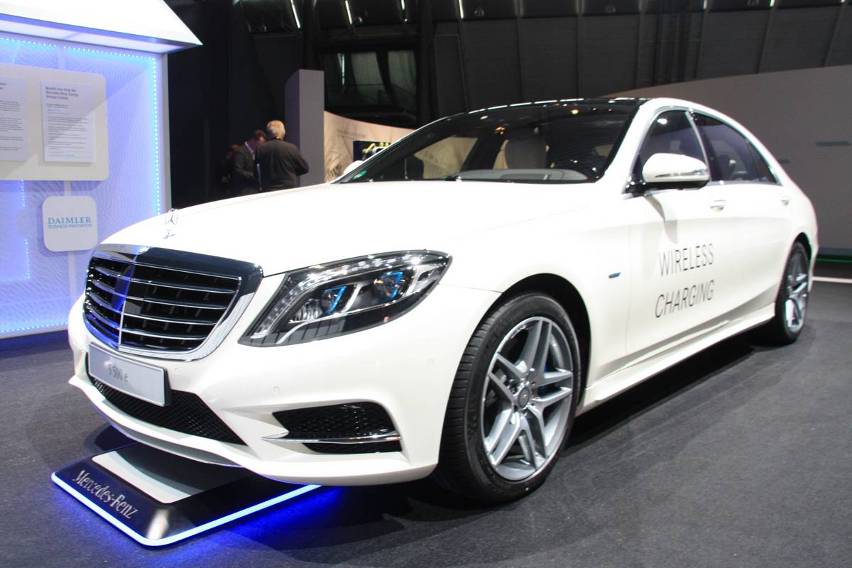 Charge par induction pour la Mercedes S 500 e dès 2017