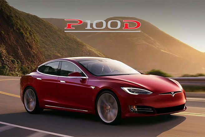 tesla model x et model s p100d les prix officiels pour. Black Bedroom Furniture Sets. Home Design Ideas