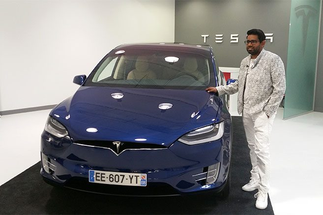 tesla model x premi re livraison en france et t moignage vid o. Black Bedroom Furniture Sets. Home Design Ideas