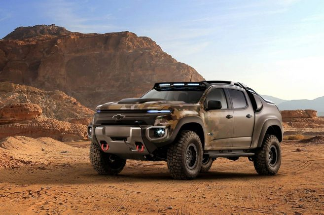Chevrolet Colorado Zh2 Fuel Cell Vehicle, Chevrolet, Free Engine Image ...