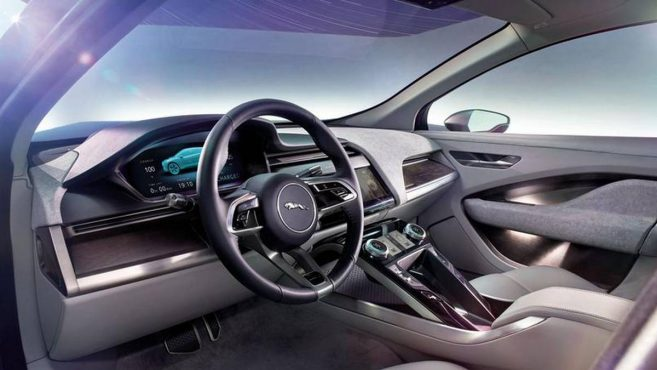 Concept électrique à Los Angeles — Jaguar I-Pace