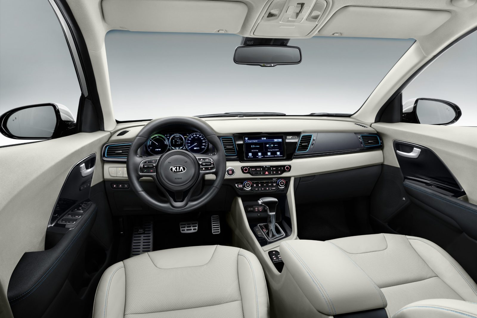 photo kia niro phev interior