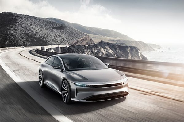 Lucid Air : un positionnement prix équivalent à la Tesla Model S