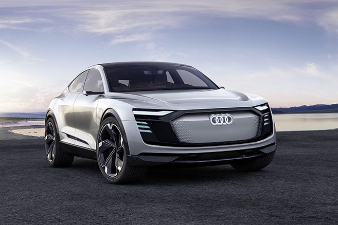 audi e tron sportback concept un suv coup lectrique pour 2019. Black Bedroom Furniture Sets. Home Design Ideas