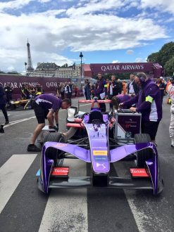 duel lectrique l eprix formula e de paris ds virgin au coude coude avec renault edams. Black Bedroom Furniture Sets. Home Design Ideas