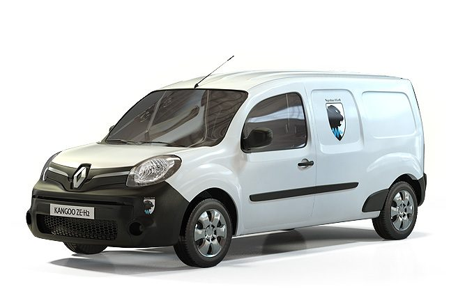 des renault kangoo lectriques hydrog ne pour engie cofely. Black Bedroom Furniture Sets. Home Design Ideas
