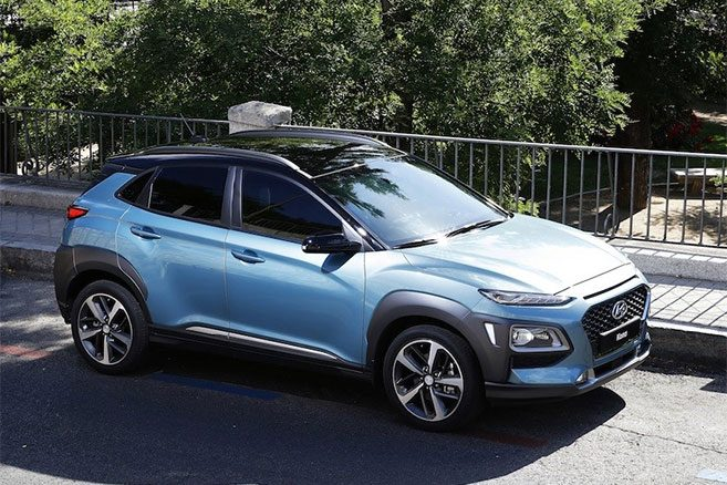 le hyundai kona lectrique aura pr s de 400 kilom tres d autonomie. Black Bedroom Furniture Sets. Home Design Ideas