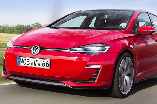 volkswagen golf 8 lectrique 420 km d 39 autonomie et batterie 48 kwh. Black Bedroom Furniture Sets. Home Design Ideas