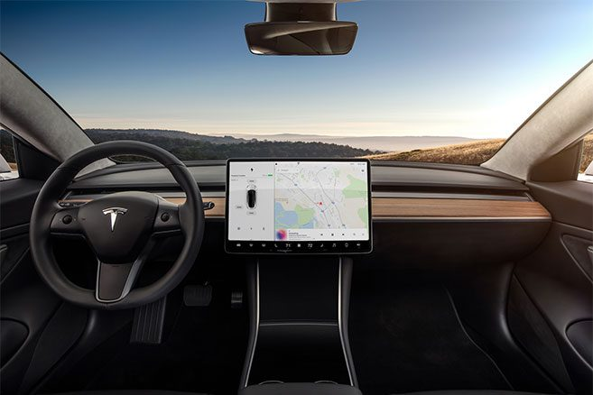 Int rieur et ext rieur photos et vid os in dites de la for Interieur tesla model s