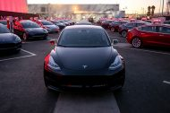 La production de la Tesla Model 3 temporairement suspendue fin février