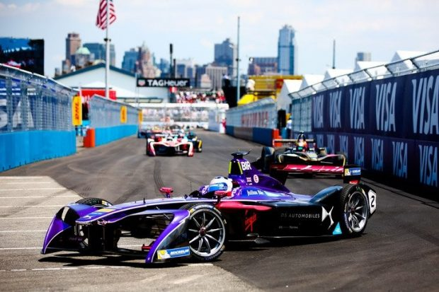 Formule E : coup double pour Sam Bird et DS Virgin Racing à New-York