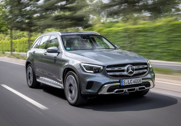 Mercedes GLC hybride rechargeable
