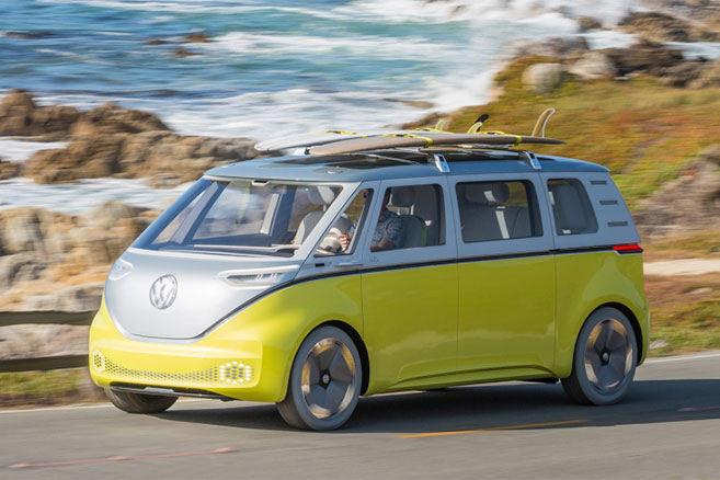 Le concept VW ID BUZZ en production dès 2022