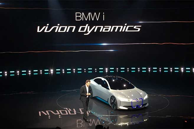 bmw i vision dynamics images et vid o de la future i5 francfort. Black Bedroom Furniture Sets. Home Design Ideas