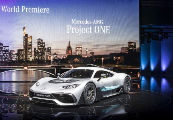 Mercedes-AMG Project One – l'hypercar hybride rechargeable à Francfort