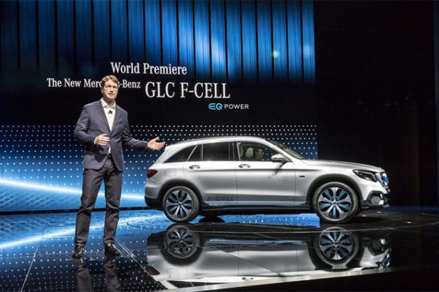 Mercedes GLC F-Cell : le SUV à hydrogène en version définitive à Francfort