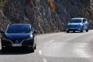Nos images exclusives de la nouvelle Nissan Leaf sur les routes de France