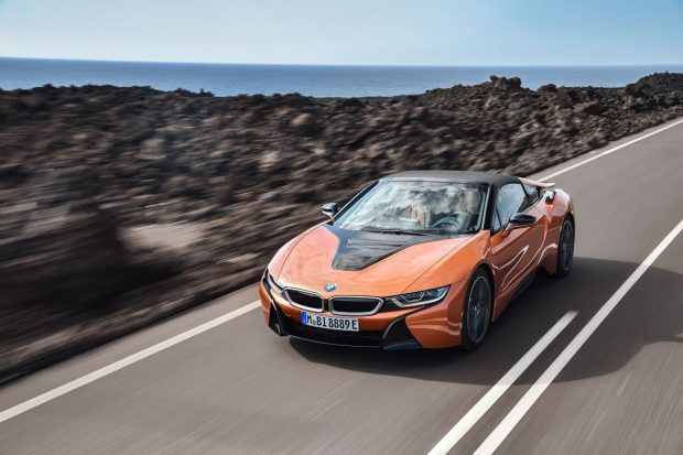 BMW i8 : la version Roadster en détails