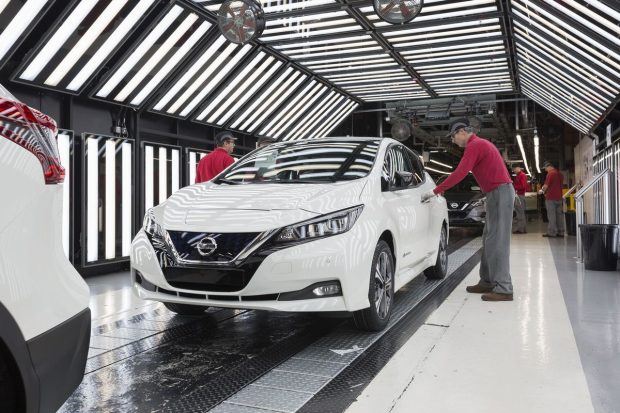 La nouvelle Nissan Leaf débute sa production en Europe