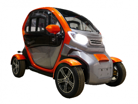 e road lycar la voiture sans permis aux troublants airs de twizy. Black Bedroom Furniture Sets. Home Design Ideas