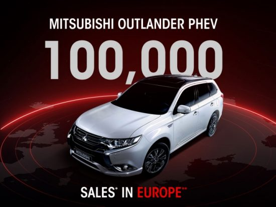 Mitsubishi Outlander PHEV : plus de 100.000 immatriculations en Europe