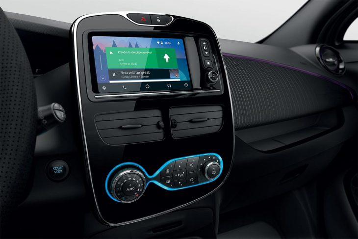 Renault Zoé système Android Auto