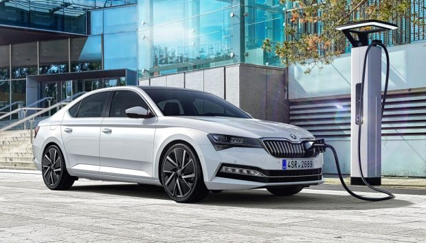 Skoda Superb hybride rechargeable