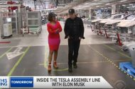 Tesla Model 3 : un aperçu de la ligne de production