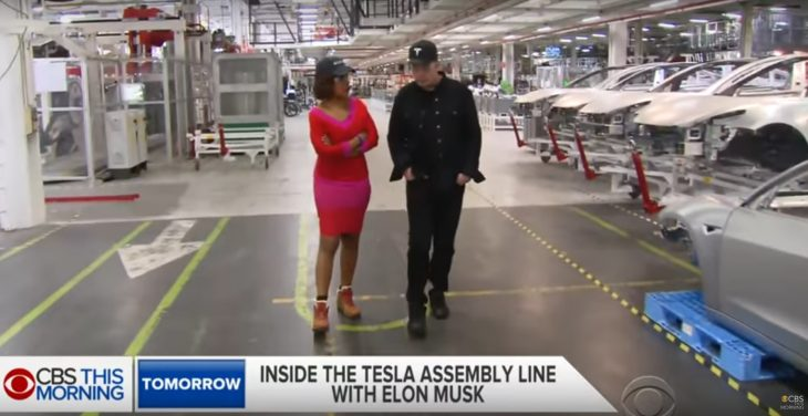 Tesla stoppe (temporairement) la production du Model 3