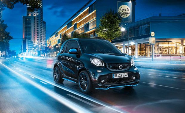 Smart passera au 100% électrique en Europe en 2020