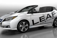 La Nissan Leaf en version cabriolet