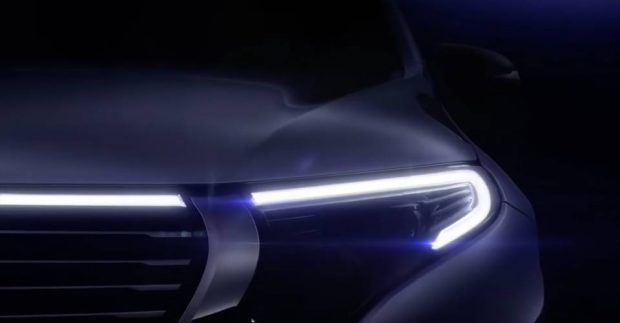 Mercedes EQC : premier teaser de la version de production