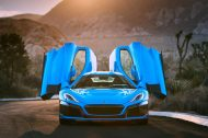 Rimac Concept Two California : une supercar électrique encore plus luxueuse