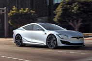 Il imagine le look de la nouvelle Tesla Model S