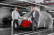 L'Audi e-Tron entre en production