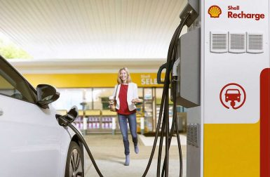 Shell vise 500 000 points de charge d'ici 2025