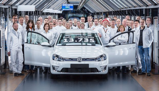 Record de production pour la Volkswagen e-Golf