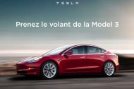 La Tesla Model 3 disponible à l'essai en France