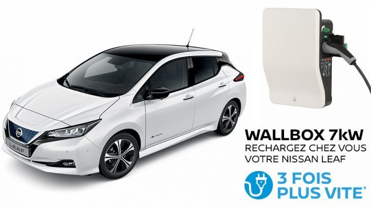 nissan leaf wallbox offerte pour la semaine de l electrique. Black Bedroom Furniture Sets. Home Design Ideas