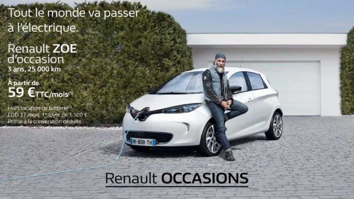 renault zoe d occasion l offre locative fait un carton. Black Bedroom Furniture Sets. Home Design Ideas