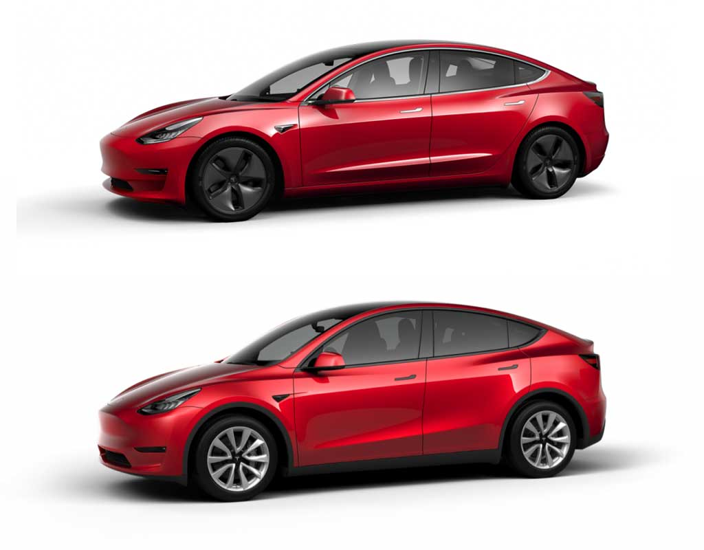 Tesla Model 3 Dimensions >> Tesla Model 3 Vs Tesla Model Y Quelles Differences Entre