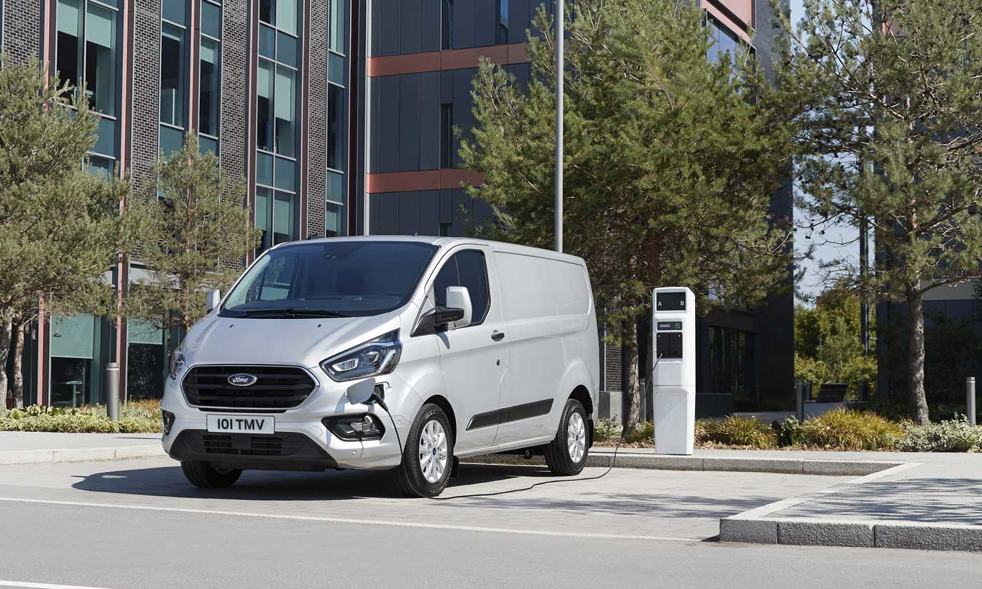 Ford Transit hybride rechargeable