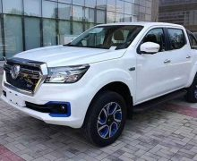 Nissan lance son premier pick-up électrique en Chine